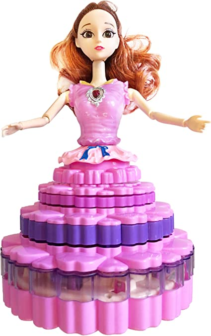 Dancing Princess Doll Toy For Girls With LED Light And Music Toddler Girl Toys