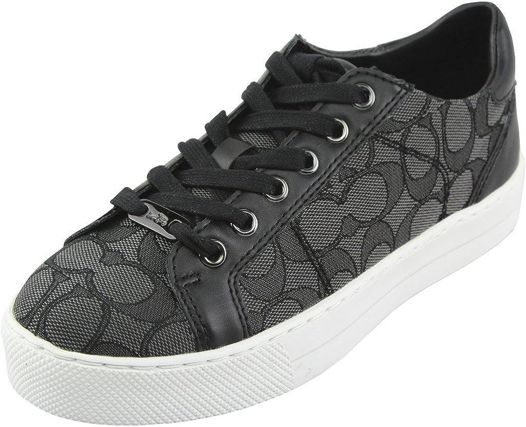 Lace Up Fashion Sneakers, Smoke/Coal