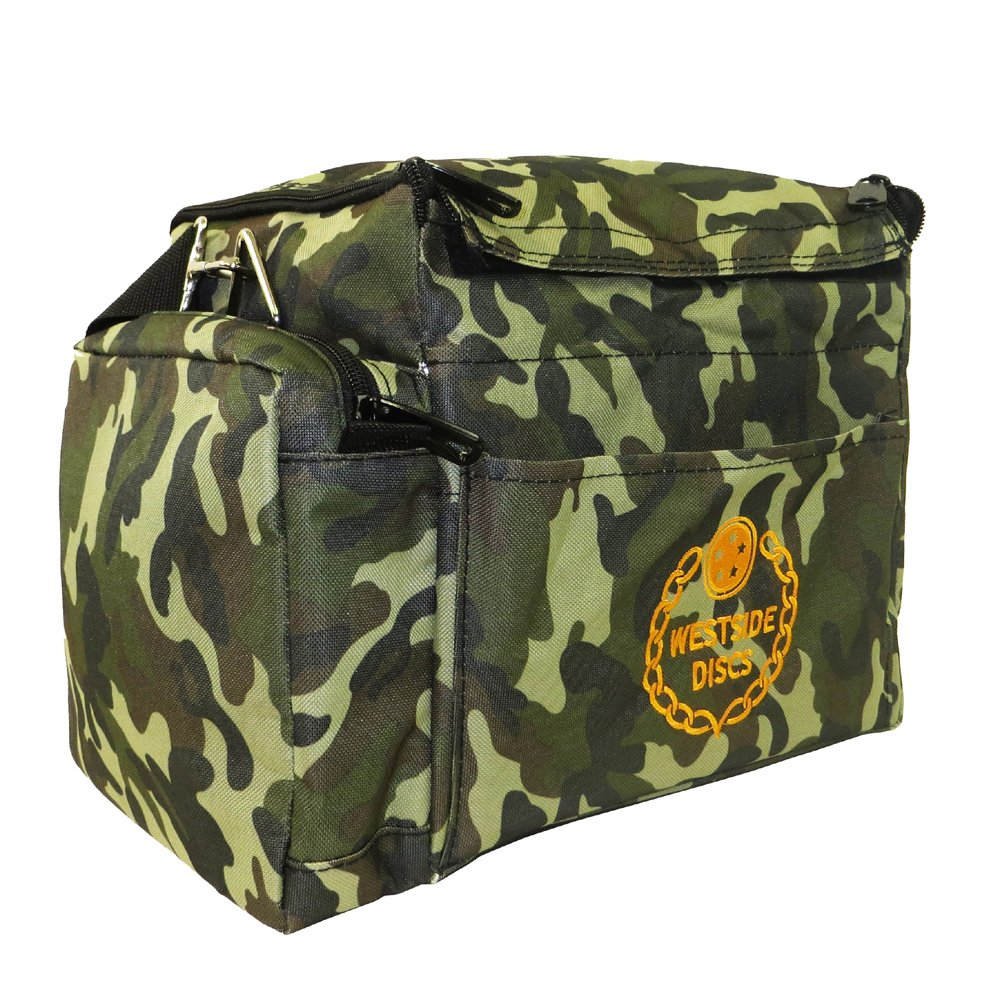 Westside Discs Cooler Disc Golf Bag - Woodland Camo