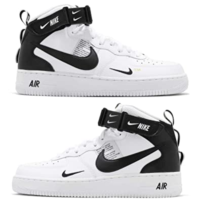 new concept 348df 5ad11 Nike Men s Air Force 1 Mid  07 Lv8 Gymnastics Shoes, (White Black