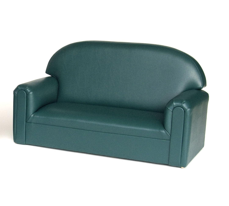Brand New World Furniture Toddler Premium Vinyl Upholstery Sofa, Teal
