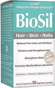 BioSil by Natural Factors, Hair, Skin supplement