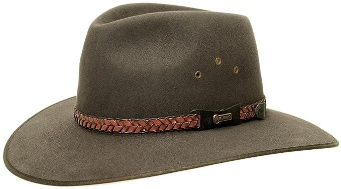 Sombrero Fieltro Pelo Tablelands by AKUBRA sombrero de cazasombrero outdoor  sombrero de caza  Amazon.es  Ropa y accesorios 7cdec79fc078