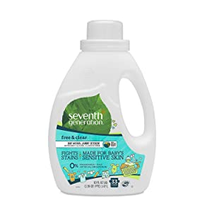 Product of Seventh Generation Baby Natural Laundry Detergent (50 fl. oz.) - Laundry Detergents [Bulk Savings]
