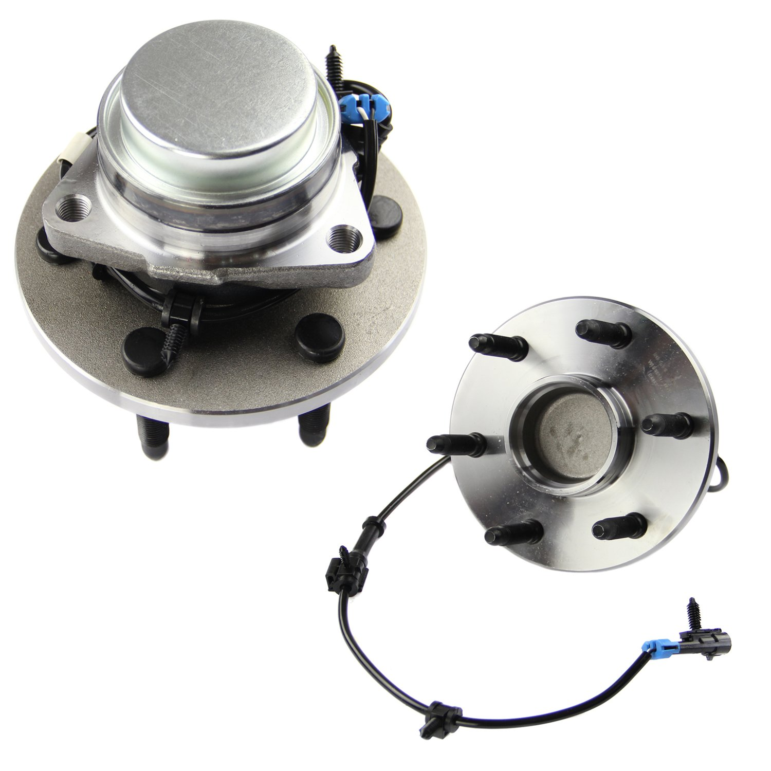 MOTORMAN 515054 Front ABS Wheel Hub and Bearing Set - Both Left and Right - Pair of 2