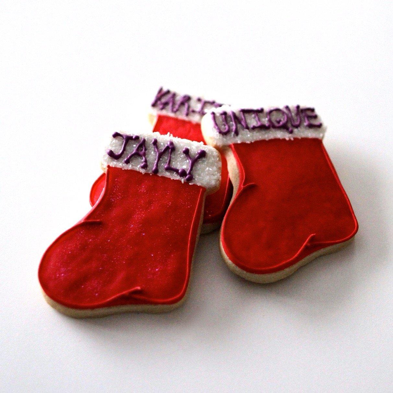 Amazon Com Dz Christmas Stocking Cookies Perfect Place
