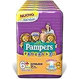 Pampers Progressi Extralarge, 108 Pannolini, Taglia 6+ (16+ kg)