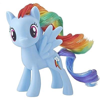 My Little Pony Mane Pony Rainbow Dash Classic Figure: Toys & Games