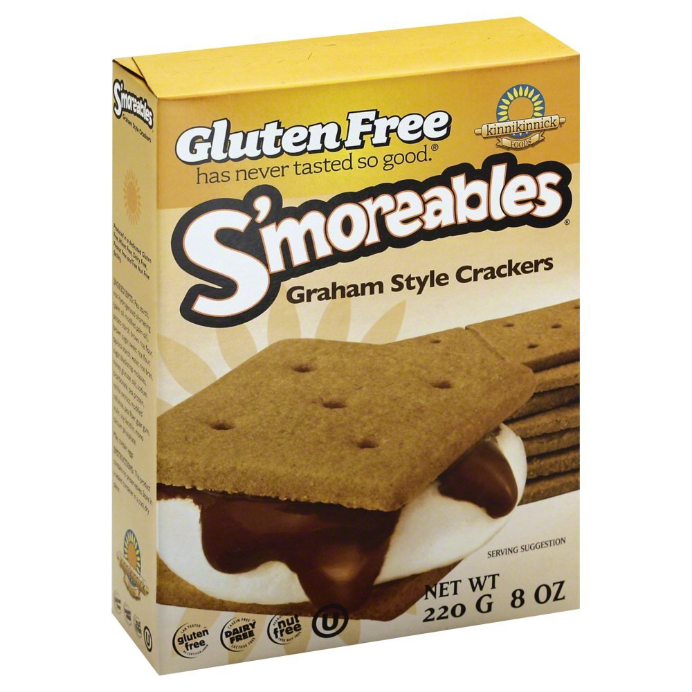Kinnikinnick Smoreable Graham Cracker (6x8 Oz)