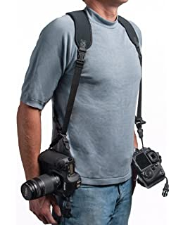 Amazon.com : Quick Release Double Dual Camera Shoulder Strap Harness