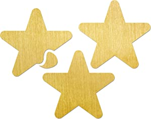 Carpet Spots Stars for Classroom - 3 Pack - Gold