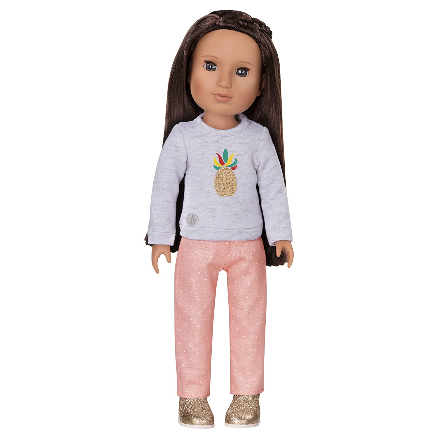 Glitter Girls by Battat – Sparkling with Style Glittery Top and Skirt Regular Outfit - 14 inch Doll Clothes and Accessories for Girls Age 3 and Up – Children's Toys Branford LTD GG50001Z