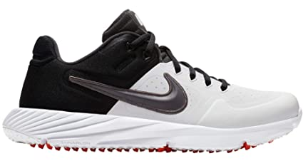 0fa0612fcc7f Amazon.com  Nike Women s Alpha Huarache Elite 2 Turf Softball Cleats ...
