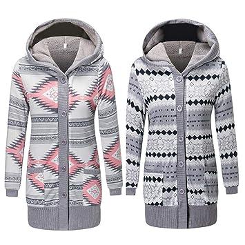 Damen Kapuzenpullover Denim Lang Mantel Langarm Lose Hoody Outwear Jacke