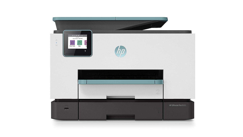 basalt Drucken, Scannen, Kopieren, Fax, WLAN, LAN, Duplex, HP Instant Ink, HP ePrint, Airprint, mit 2 Probemonaten HP Instant Ink Inklusive HP OfficeJet 8012 Multifunktionsdrucker