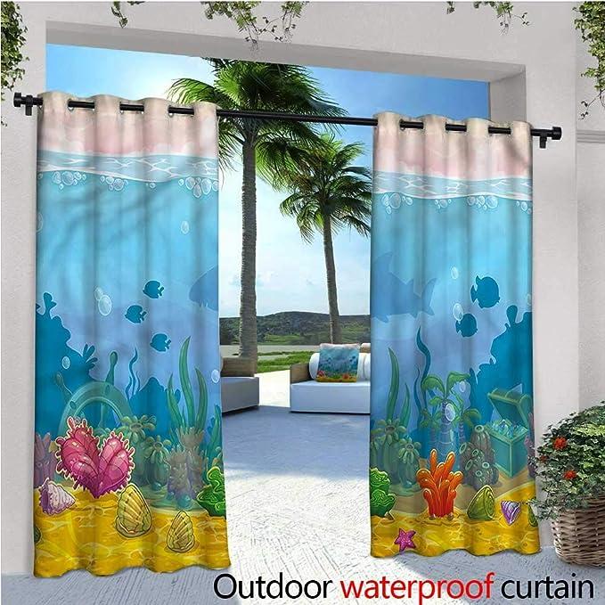 Cortina de privacidad para Exteriores de Acuario para pérgola Be Different Inspirational con Aislamiento térmico Repelente al Agua para balcón: Amazon.es: Jardín