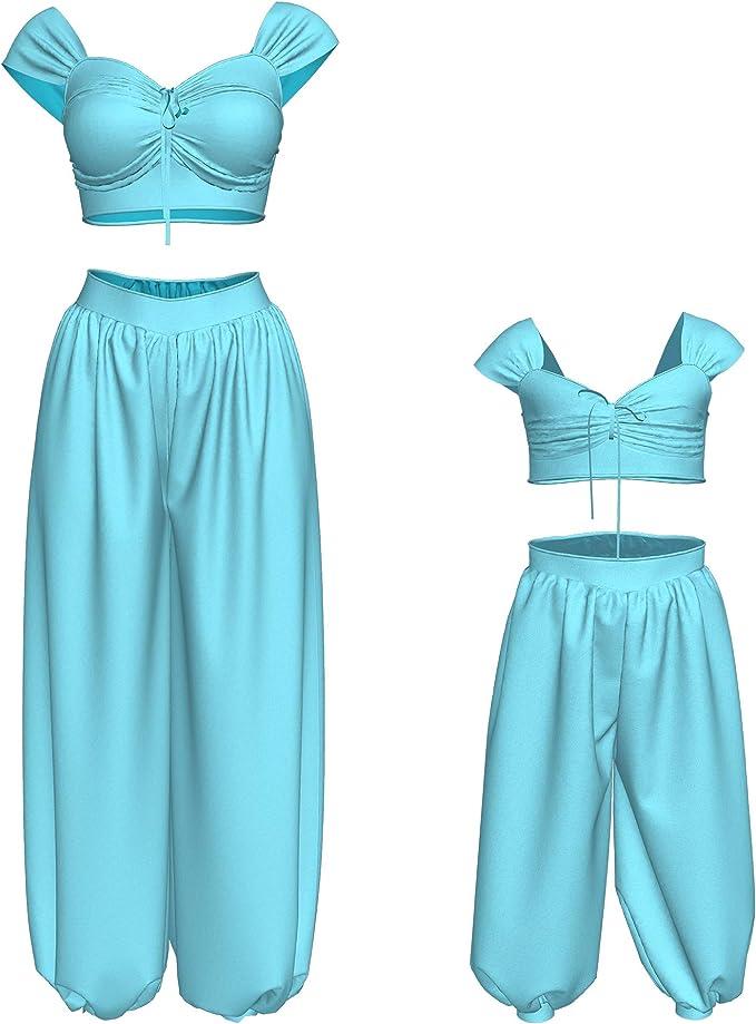 Disfraz de Princesa Jasmine, Conjunto de Disfraz de Familia de ...