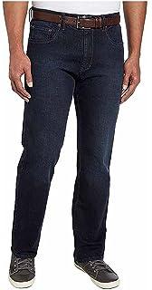 URBAN STAR Mens Black Jeans Pants Denim Straight Classic Relaxed