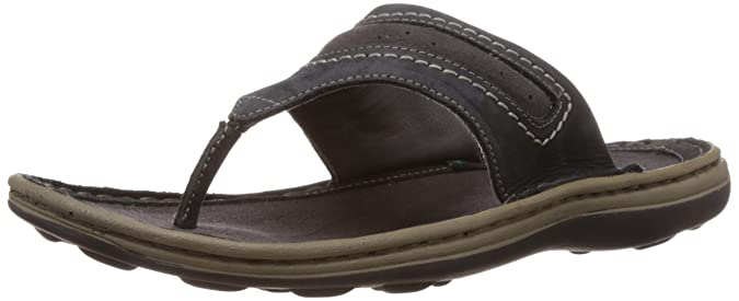 Woodland Men's Leather Hawaii Thong Sandals and Floaters Men's Fashion Sandals at amazon