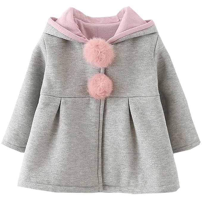 0112a3a591f8 Kfnire Toddler Girl Coat