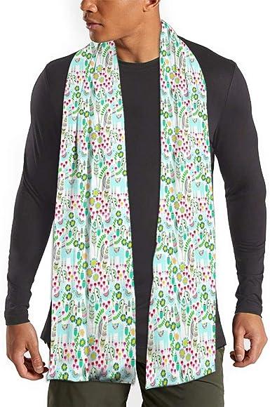 MoMo FlMouth Llama Hombres bufanda de la cachemira caliente sedoso - bufandas de algodón para el invierno: Amazon.es: Ropa y accesorios
