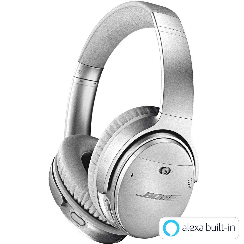 Bose QuietComfort 35 wireless headphones II ワイヤレスノイズキャンセリングヘッドホン Amazon Alexa搭載 快適な装着感 20時間連続再生 通話マイク搭載 シルバー