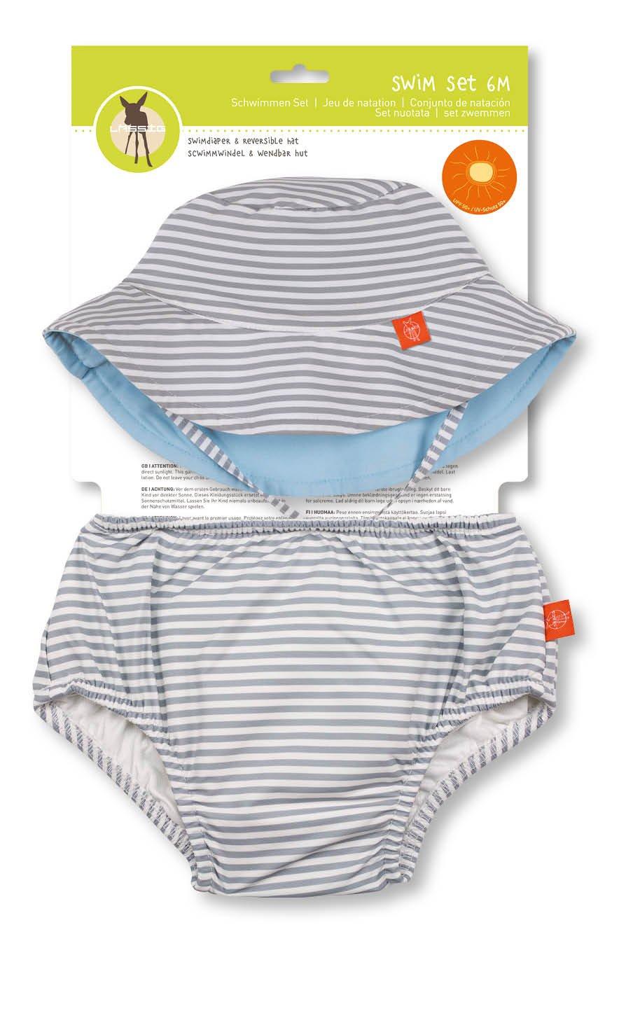 Lässig 1431011803 Baby Swim Set Hut und Schwimmwindel girls, Sun, 6 Monate, orange Laessig GmbH 1431011803/6M