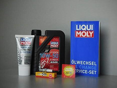 MotorFunSports - Juego de Mantenimiento de bujías y Aceite para el Coche (Generic Soho 125/150): Amazon.es: Coche y moto