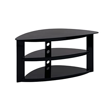 Amazon Com Furniture Hotspot Black Corner Tv Stand Gaming Tv Stand