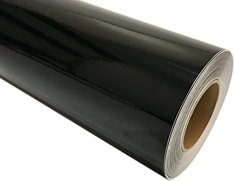 "24/"" x150ft  Black  Reflective Vinyl Adhesive Cutter Sign Special Price"