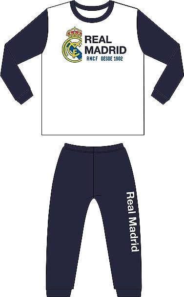 Pijama Real Madrid niño Invierno Terciopelo Tallas 6 a 16 (12 ... 85fbb4ff9683d