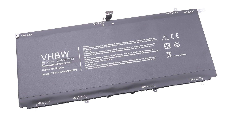 7e656f2a3fa72 vhbw Li-polymer Battery 6750 mAh for Netbook Pad: Amazon.co.uk: Electronics