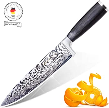 Michelangelo Super Sharp Professional Chef's Knife