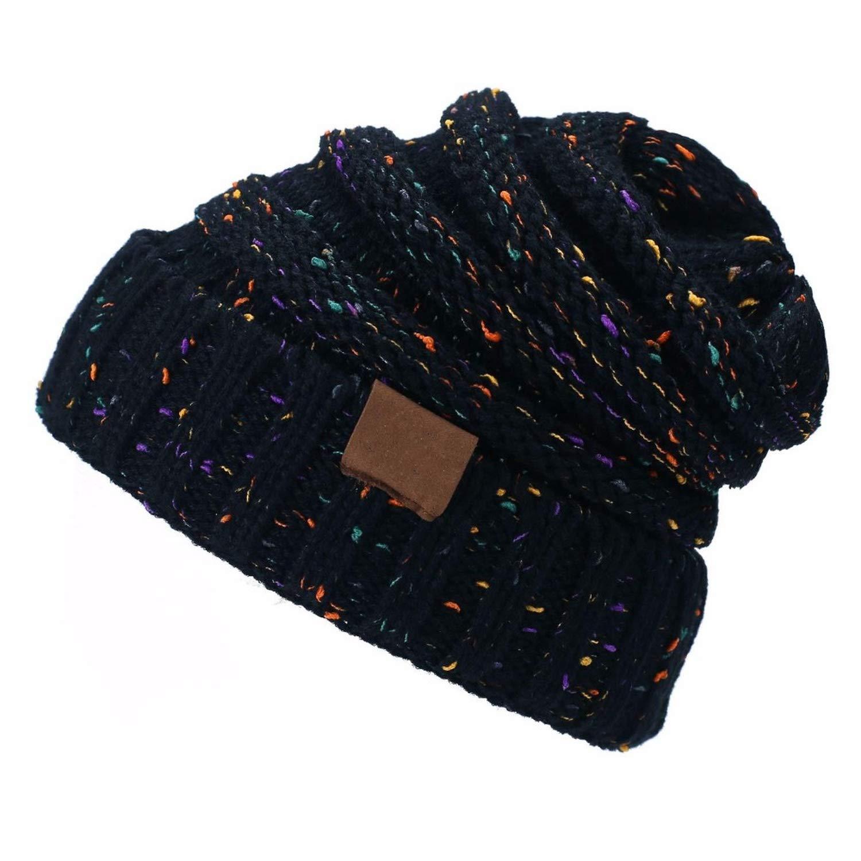 FUZE Winter Hat for Women Girl S Hat Knitted Beanies Cap Hat Thick Womens Skullies Beanies