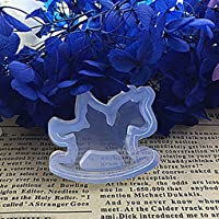 FIGHTINGV5 DIY Silicone Clear Moon Star Shape Pendant Necklace Mold Mould Resin Craft Tool
