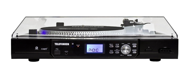 Telefunken TT100EM Mesa giratoria de DJ Moderno (2 ...