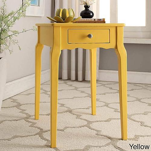 Inspire Q Daniella 1-Drawer Wood Storage Side Table