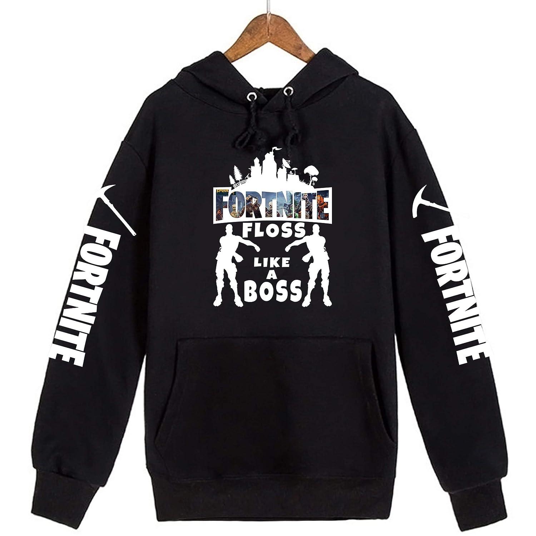 Fortnite Floss Like a boss Mens Kids Adult Youth Boys Unisex Hoodies Sweatshirts