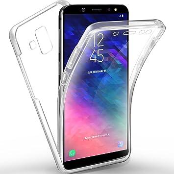 MEOWN - Carcasa para Samsung Galaxy A6, Color Rojo: Amazon.es ...