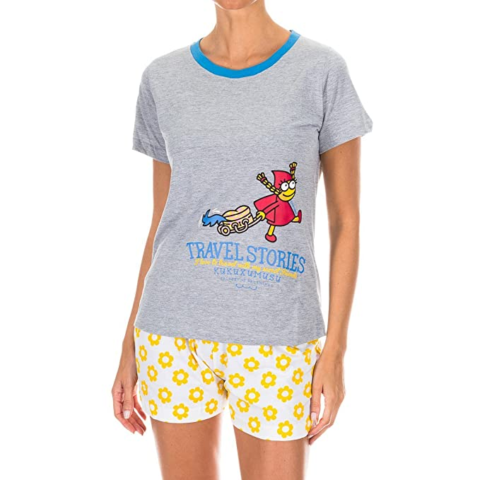 Kukuxumusu Pijama Sra. M/Corta