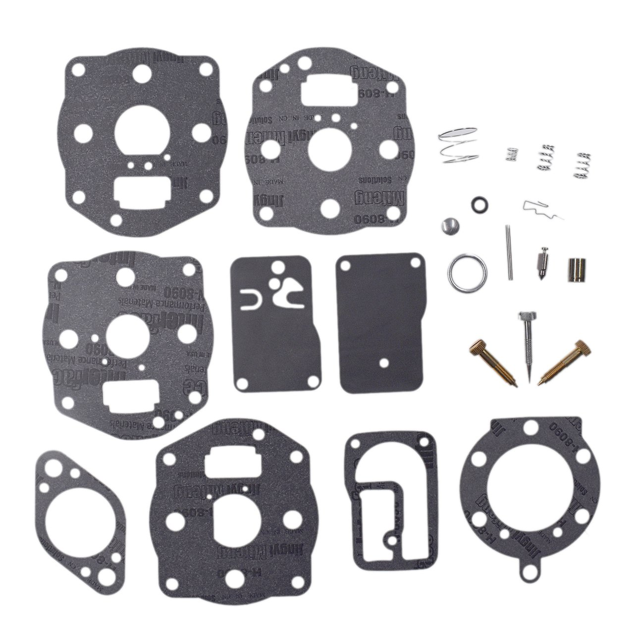 Carburetor Rebuild Kit For Briggs Stratton Models Engine Air Cleaner Parts Model 460707 42e707 42e777 Garden Outdoor