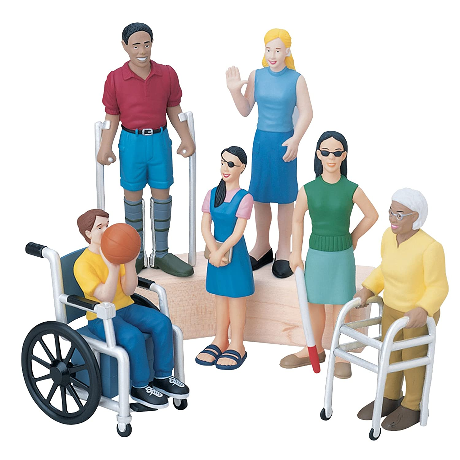 Marvel Education MTC-164 Friends with Diverse Abilities Figure Set, Grade: Kindergarten to 3