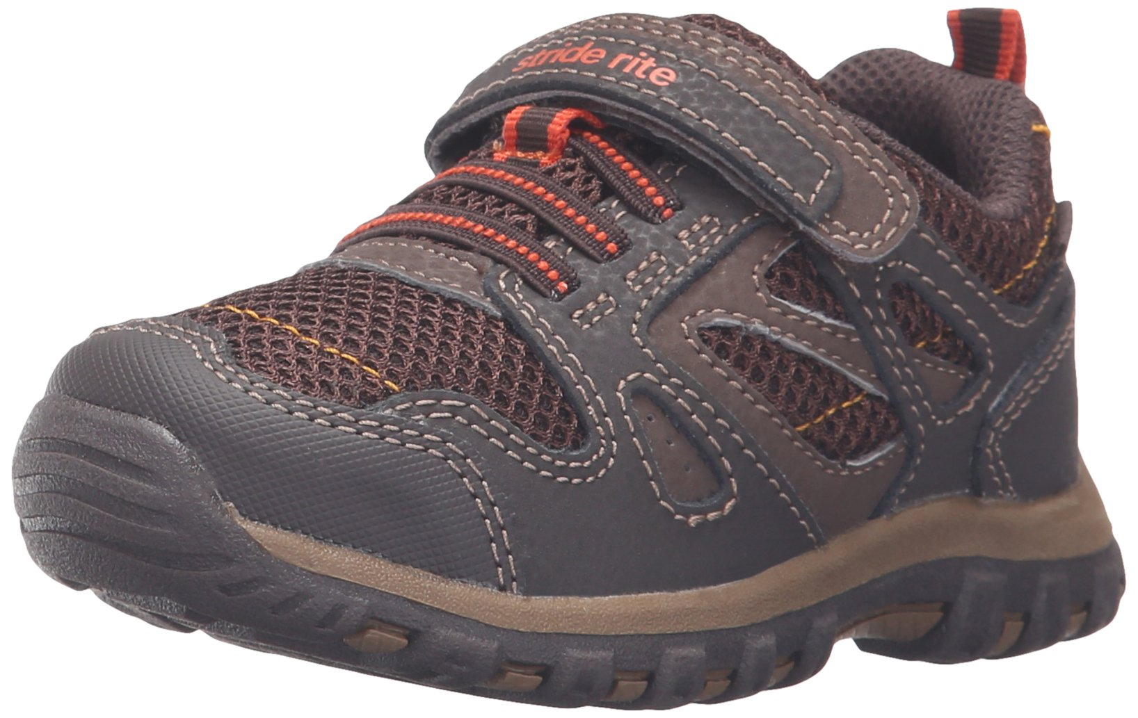 Stride Rite Made 2 Play Artin Running Shoe (Little Kid), Brown, 1.5 W US Little Kid