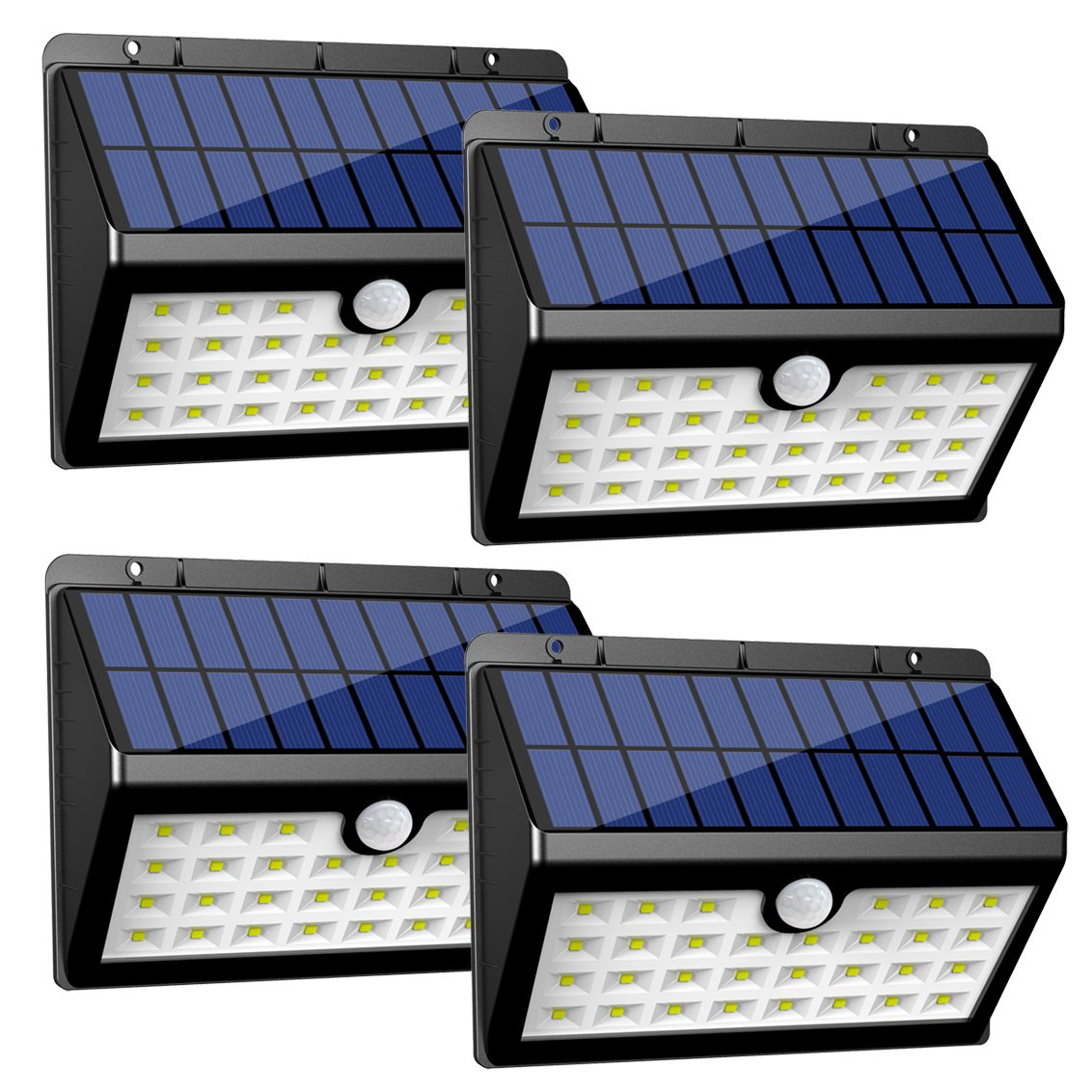 InnoGear Solar Lights Outdoor,Motion Sensor Security Night Light with Auto on and Off for Front Door Back Yard Driveway Garden Patio Garage, Pack of 4 by InnoGear