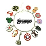 Amazon Price History for:Avengers Infinity War Movie Theme Multi Charms Jewelry Bracelets Charm by Family Brands