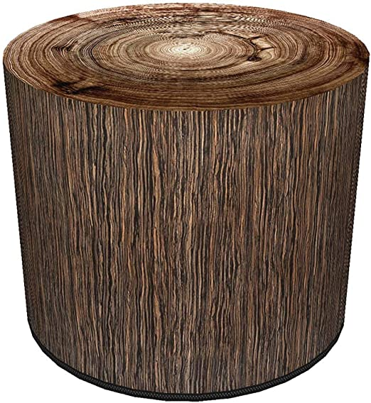 BERTONI Design Pouf Sitzpuff Sitzhocker 40x40 Filz Bezug
