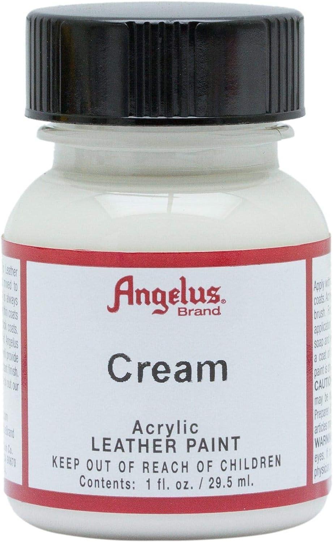 Angelus Leather Paint 1 oz Cream