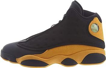outlet store dae55 4e48c NIKE Air Jordan 13 Retro Men s Basketball Shoes Black University Red 414571  035 (10.5)