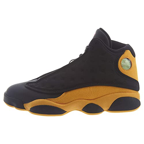 low priced a285d 08323 NIKE Air Jordan 13 Retro Men's Basketball Shoes Black University Red 414571  035 (10.5)