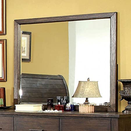 Groovy Ribeira Cottage Style Beveled Mirror Dark Walnut Finish Home Interior And Landscaping Ologienasavecom